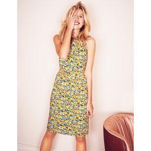 Boden Dresses & Skirts - Boden Shift Dress Yellow Field Flowers Size 10