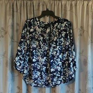 Cynthia Rowley Tops - Cynthia Rowley 1X blouse