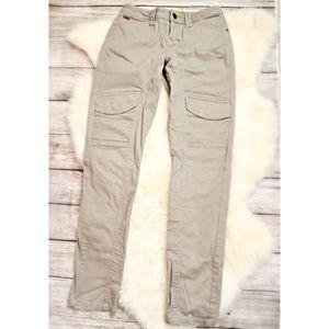 Lole Pants - Like New! LOLE tan stretch utility skinny pants