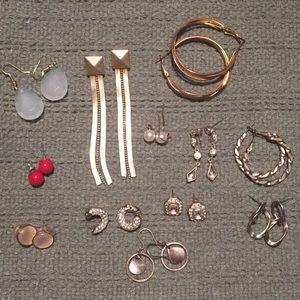 Jewelry - 12 Sets of Earrings | Lot