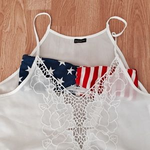 Other - American apparel flag bandeau