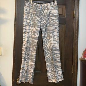 Karen Kane Pants - Karen Kane Lifestyle Tiger Motif Pants