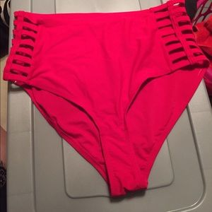 Other - High waisted, cut out swim bottoms.