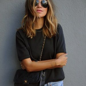 Sincerely Jules Tops - sincerely jules • cara short sleeve sweater