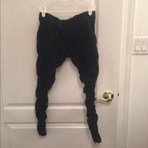 Hard Tail Pants - Hard Tail Side-Scrunch Leggings