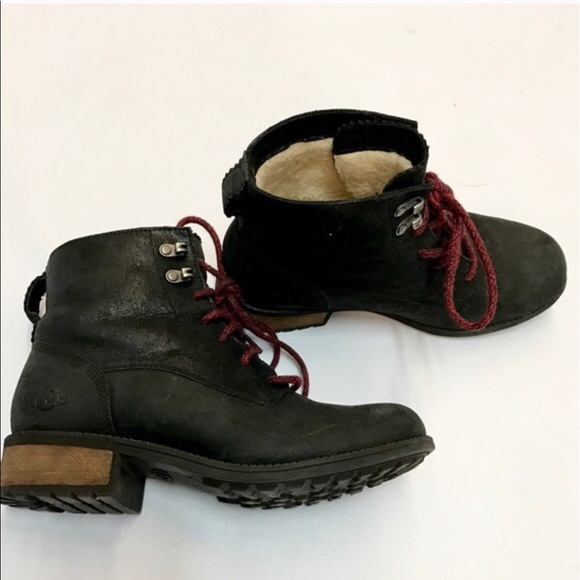 Black Ugg Army Boots!
