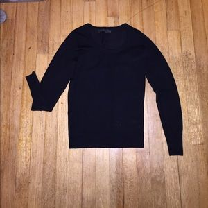 Black sweater from the Limited