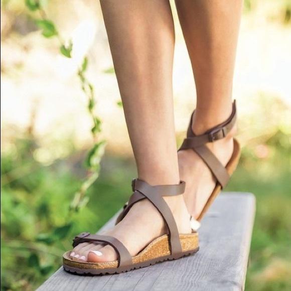 4037558cf4b1 Birkenstock Shoes - Birkenstock Daloa Ankle Strap Sandal