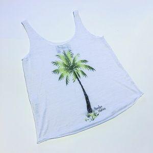 Boutique Brand - Palm Tree Tank