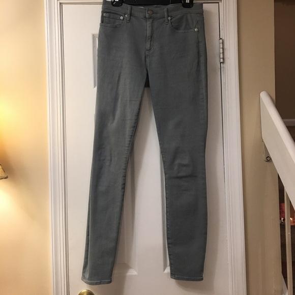 Gap olive skinny jeans
