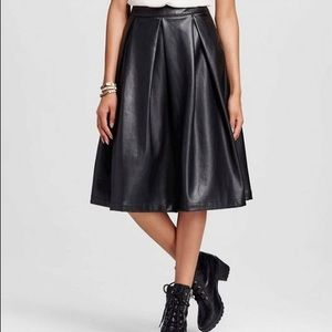 Who What Wear Dresses & Skirts - -Brand New- Who What Wear Leather Skirt