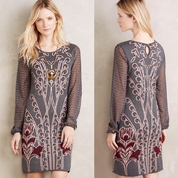 2e43fd23e5b Anthropologie Dresses   Skirts - Anthro Knitted   knotted Saone Sweater  Dress