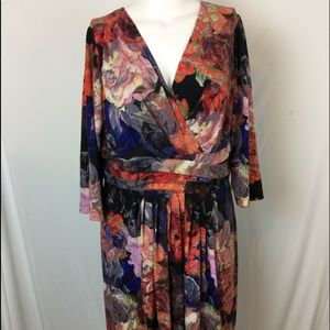 Adrianna Papell Dresses & Skirts - Adrianna Papell Dress sz 20W NWT Floral print