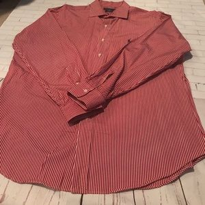 Polo by Ralph Lauren Other - Polo by Ralph Lauren Red and White Button Down XL