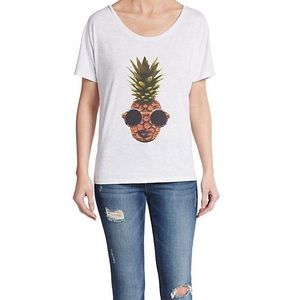 Crooked Monkey - Pineapple Tee
