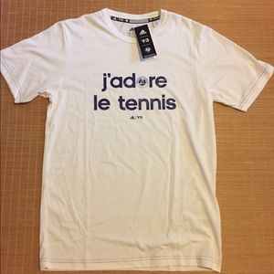 Y-3 Other - Y-3 X ROLAND GARROS FRENCH OPEN EVENT T-SHIRT