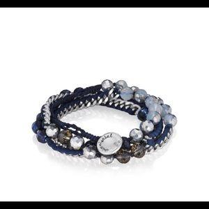 Chloe + Isabel Jewelry - Chloe and Isabel Beaded + Ribbon Wrap Bracelet