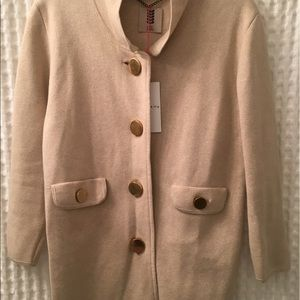 Orla Kiely Jackets & Blazers - Orla Kiely gold button jacket