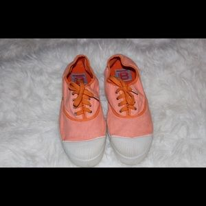 Bensimon Shoes - Limited edition coral/orange Bensimon sneakers