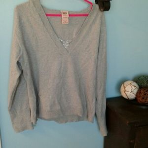 Faded Glory Hooded Sweater with attached camisole