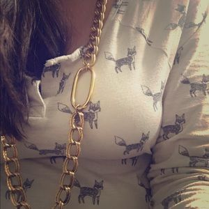 Jewelry - Hip Gold Chain Necklace