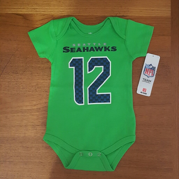 47% off NFL Other  NFL Team Apparel Infant Seattle Seahawks Onsies from Tracis closet on Poshmark