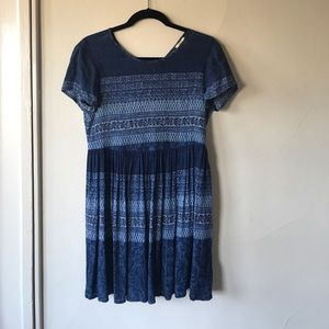 Pins & Needles Dresses & Skirts - Soft Blue Babydoll Dress from Urban Outfitters.