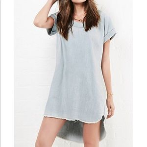 Mono B  Dresses & Skirts - Oversized Denim Dress