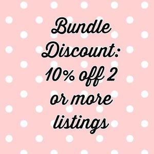 Bundle Discount!!! 🙌🏽