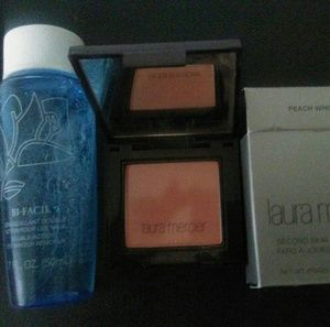 Lancome Other - Brand new eyemakeup remover AND Laura Mercierblush
