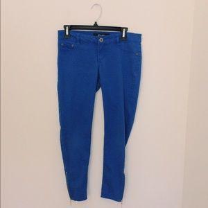 Rewash Denim - Royal Blue Colored Skinny Jeans
