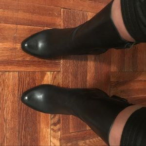 Cole Haan Shoes - Black leather high heel boot