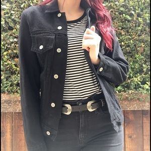 John Galt for Brandy Melville black jean jacket