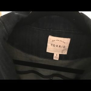 torrid Jackets & Coats - Torrid Blue jean jacket