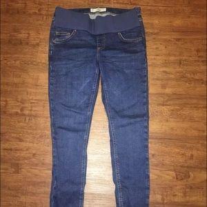 Topshop MATERNITY Denim - Topshop Maternity Crop Jeans Jamie Size 6