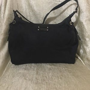 Kate spade ♠️ light weight nylon with leather trim