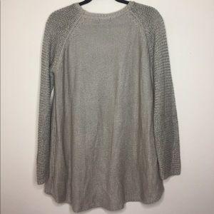 RDI Sweaters - RDI taupe knit sweater