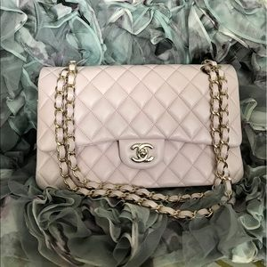 HPChanel classic double flap ballerina pink