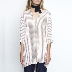 Faithfull the Brand Dresses & Skirts - Faithfull the Brand Novak tunic (Muse Stripe Red)