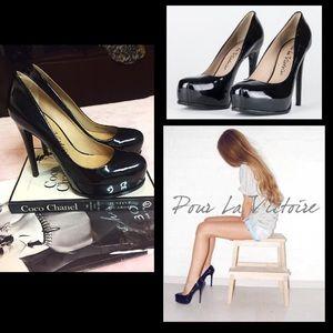 Pour la Victoire Shoes - SALE🔥Pour La Victoire🖤'Irina' Platform Pump