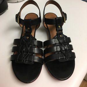 DV by Dolce Vita Shoes - Black wedge sandal