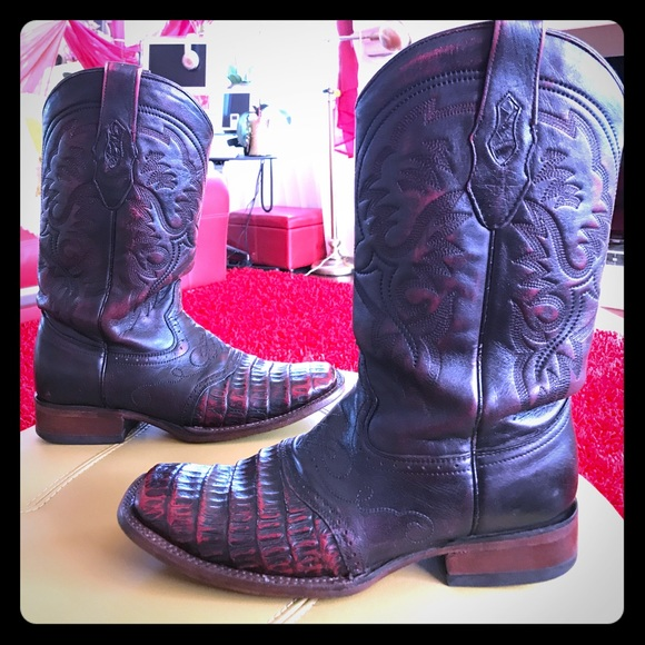 5a89cd3a20e Los Altos Gator Croc Boots 9.5US Men