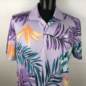 Monterey Tropical Hawaiian Golf Shirt