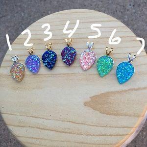 Jewelry - Handmade Druzzy necklace
