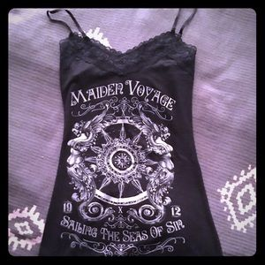 Seraphine Tops - Gently used lace tank