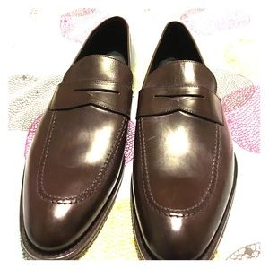 To Boot Other - Brown leather loafers. Made in Italy.