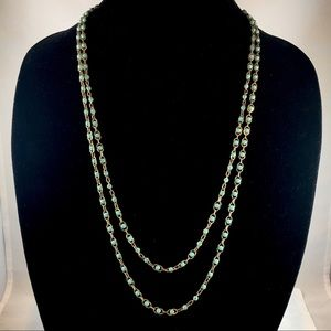 Lucky Brand Jewelry - Lucky Brand Turquoise bead two strand necklace!