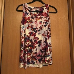 Loveappella Tops - NWOT: Loveappella watercolor tank