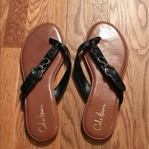 Cole Haan Leather Flip Flops