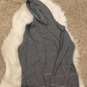 Other - Old navy lightweight gray hoodie